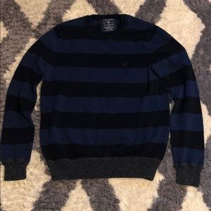 American Eagle AE Sweatshirt Sweater Small S Blue!